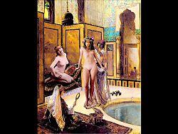 Miss Fernande's Harem Tour  - Erotic Fotomontage
