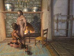 Sexy girl with Ulfberth War-Bear part3