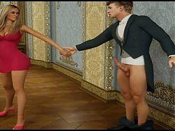 New 3D babe sex