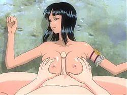 One Piece Nico Robin Titfuck